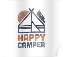 Happy Camper Poster