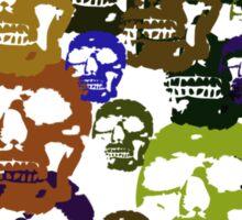 Skull Parade T-Shirt Sticker