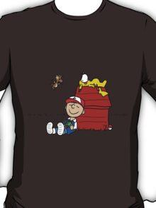Charlie Brown Pokemon Master T-Shirt