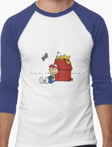 Charlie Brown Pokemon Master Men's Baseball ¾ T-Shirt