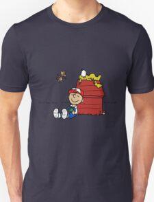 Charlie Brown Pokemon Master Unisex T-Shirt