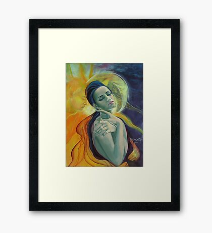 """Ilusion"" (3) - from ""Impossible love"" series Framed Print"
