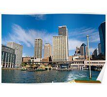 Circular Quay 2, Sydney Poster
