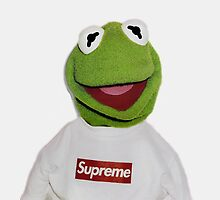 Supreme Kermit the Frog Tee by loganwheat