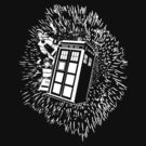 Flight of the Tardis  by Rachel Miller