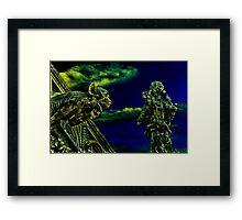 Vienna Gargoyles Fine Art Print Framed Print