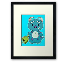 Hello Monster Framed Print