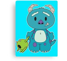 Hello Monster Canvas Print