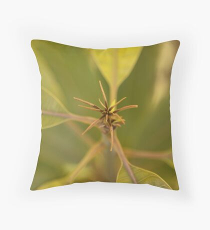 Mango Tree Throw Pillow