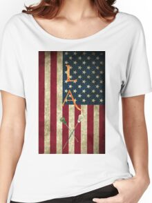 lax Women's Relaxed Fit T-Shirt