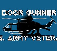 Door Gunner - Army Veteran by Buckwhite
