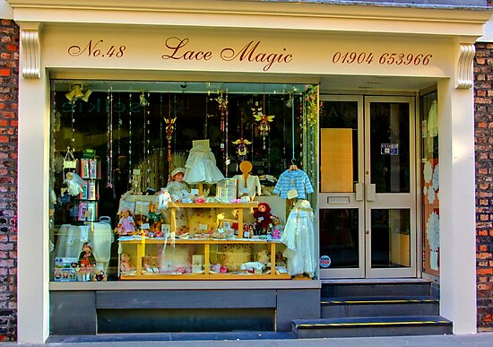 Lace Magic - York. by Trevor Kersley