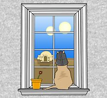 Twin Suns of Tatooine - Cat in the Window Unisex T-Shirt
