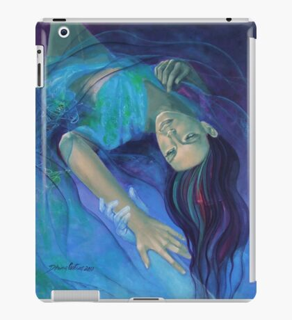 """""""Touching the ephemeral"""" - from """"Whispers"""" series iPad Case/Skin"""