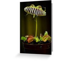 Venus human trap Greeting Card