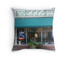 Cobblers Throw Pillow
