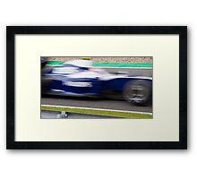 Williams Framed Print