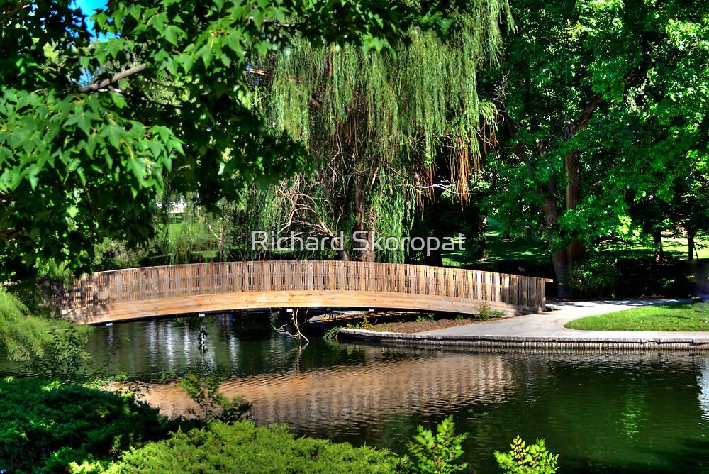 Wooden Bridge by Richard Skoropat