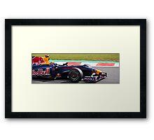 Mark Webber Framed Print