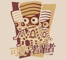 Mummy Mascot Stencil by KawaiiPunk