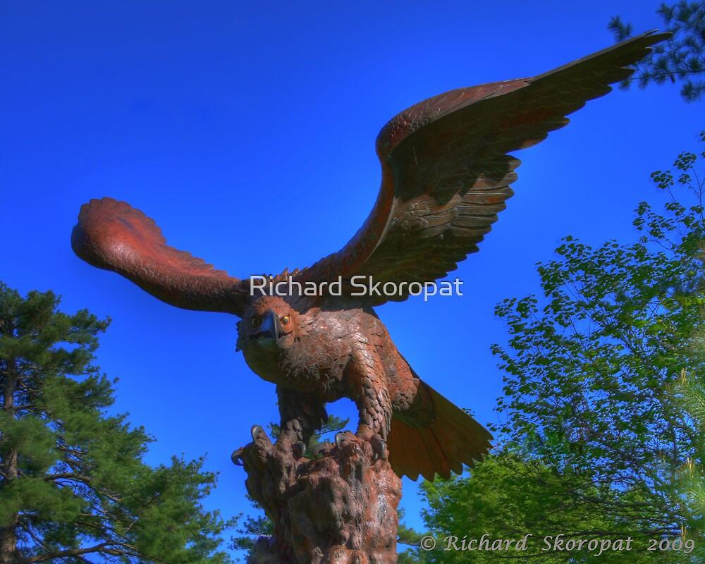 Eagle Statue by Richard Skoropat