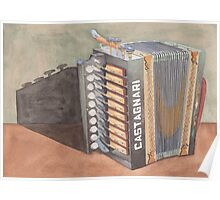 Button Accordion Two Poster