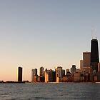 CHICAGO SKYLINE by Spiritinme