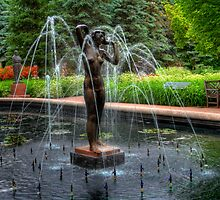 """IN THE WIND"" - FOUNTAIN by Larry Trupp"