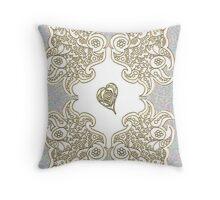 Golden Tribute Throw Pillow