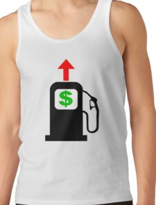 Rising Petrol Prices in the United States  Tank Top
