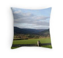 Irish Countryside Throw Pillow