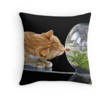 Come a bit closer (new and improved) Throw Pillow