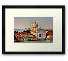 Chiesa del Redentore Framed Print