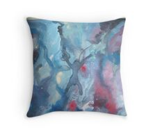 Lost Somewhere Throw Pillow