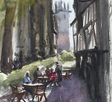 The Bear Steps Cafe, Shrewsbury by bakuma