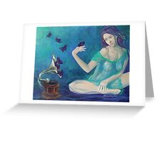 """Velvet obsessions"" Greeting Card"