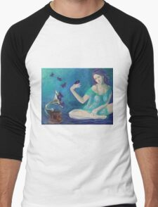 """""""Velvet obsessions"""" Men's Baseball ¾ T-Shirt"""