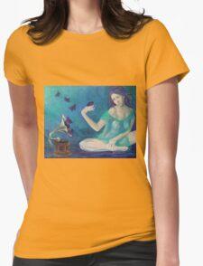 """Velvet obsessions"" Womens Fitted T-Shirt"