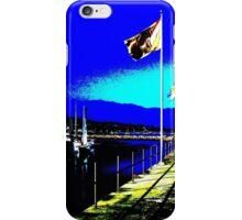Santa Barbara CA Marina iPhone Case/Skin