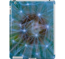 Dandelion in blue and green tones iPad Case/Skin