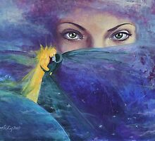 """...and the past it's just the beginning...from """"Impossible love"""" series by dorina costras"""