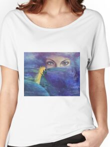 """...and the past it's just the beginning...from """"Impossible love"""" series Women's Relaxed Fit T-Shirt"""