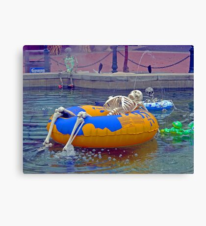 Lazy Bones Canvas Print