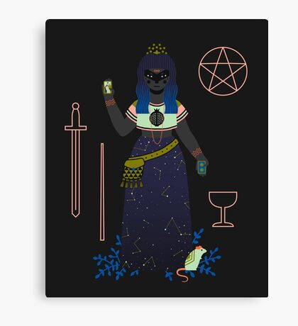 Witch Series: Tarot Cards Canvas Print