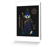 Witch Series: Tarot Cards Greeting Card