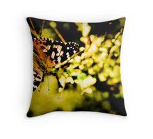 Gossamer wings Throw Pillow