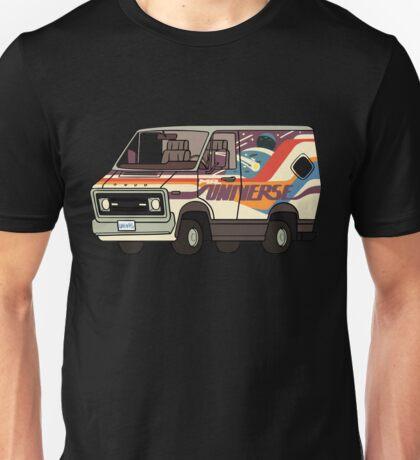 Wheels for Mr. Universe Unisex T-Shirt