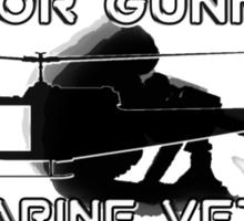 Door Gunner - U.S. Marine Veteran Sticker