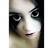 evil doll Photographic Print