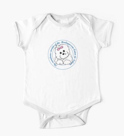Life circle Coton de Tulear - The wondrous world of the Coton de Tulear One Piece - Short Sleeve